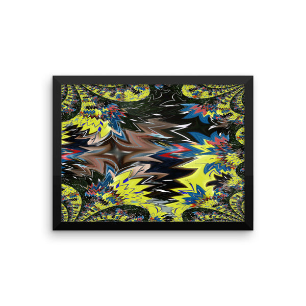 Airplane Framed Photo Paper Poster - Pattern and Print