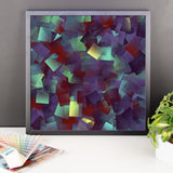 Square Jewels Framed Photo Paper Poster
