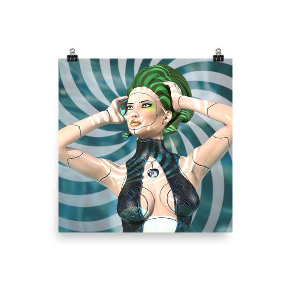 Artificial Beauty Photo Paper Poster - Pattern and Print