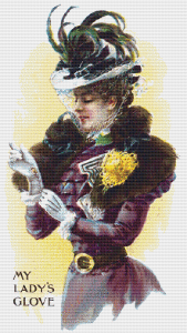 My Lady's Glove Trading Card