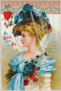 My Love Think of Me - Pattern and Print