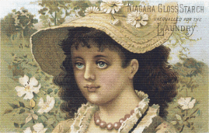 Niagara Gloss Starch Trading Card