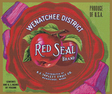 Red Seal Brand Label