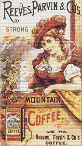 Reeves, Parvin and Co.'s Coffee Trading Card