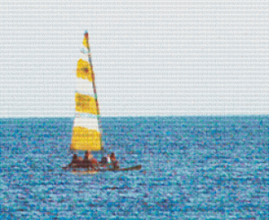 Sailing - Pattern and Print