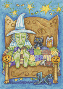 Sleeping Witch - Pattern and Print