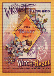 Standard American Witch Hazel Label