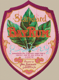 Standard Bay Rum Label