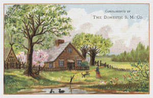 The Domestic S. M. Co. Trading Card