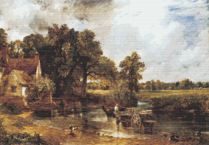 The Haywain - Pattern and Print