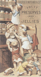 Thurber, Whyland and Co.'s Fruit Preserves and Jellies Trading Card
