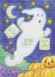 Trick or Treating Ghost - Pattern and Print