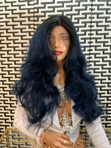 CARATS BLUE lace front wig 1219