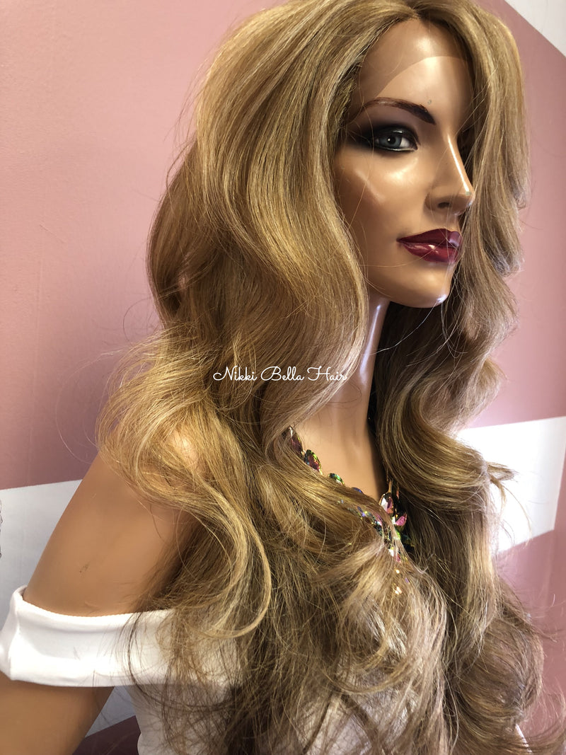Dark Blonde Lace Front Wig 26""