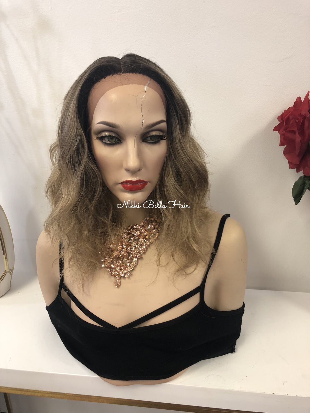Ash Blonde 10 Inches Lace Front Wig | 1118 43