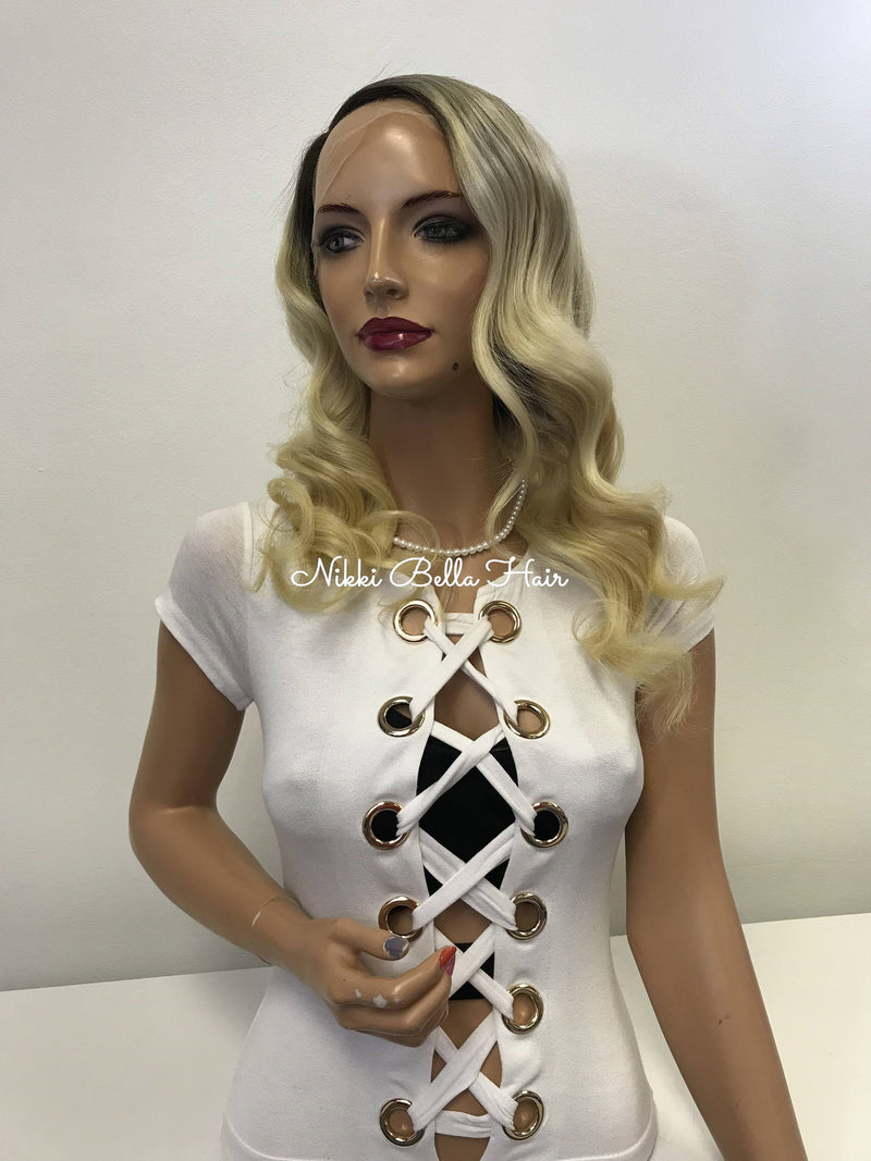 Blond Full Lace Wig - Malaysia
