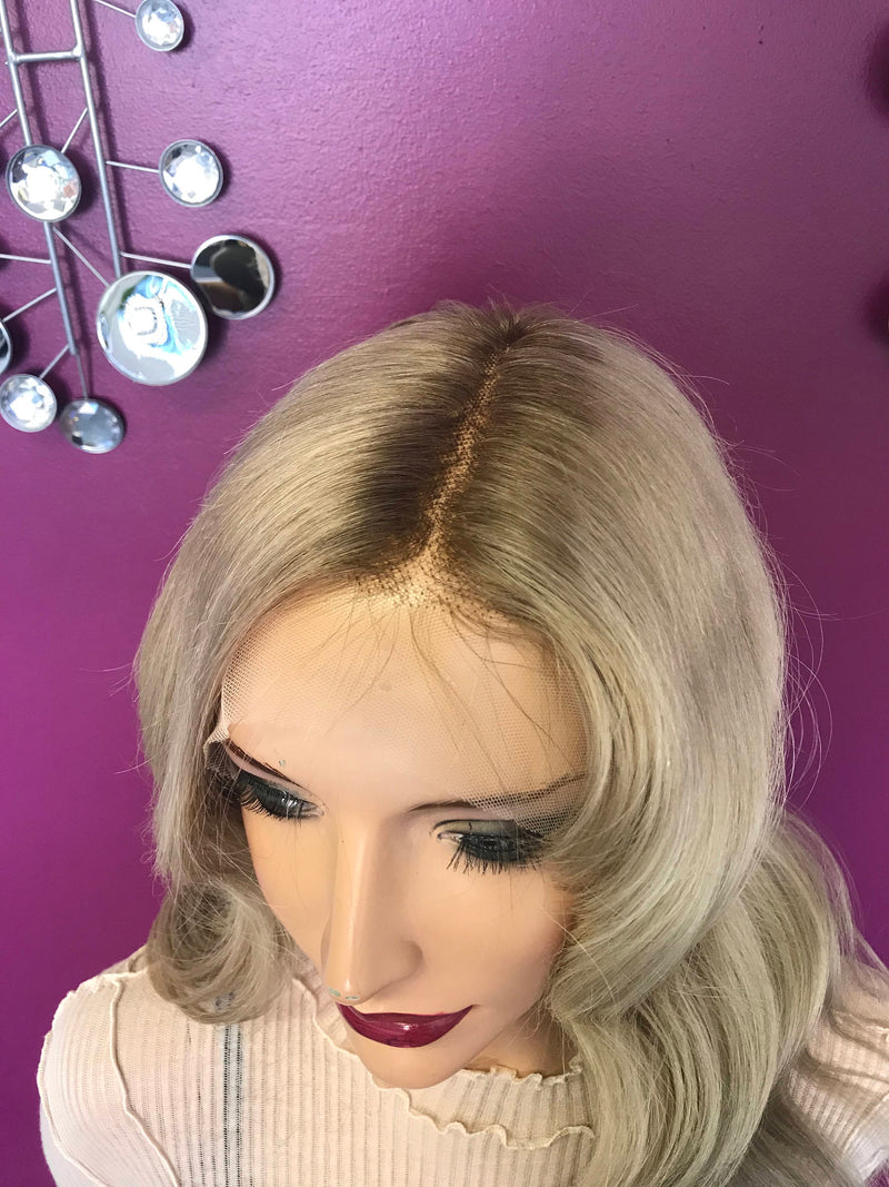 Blond Balayage Full Lace Wig - Blake