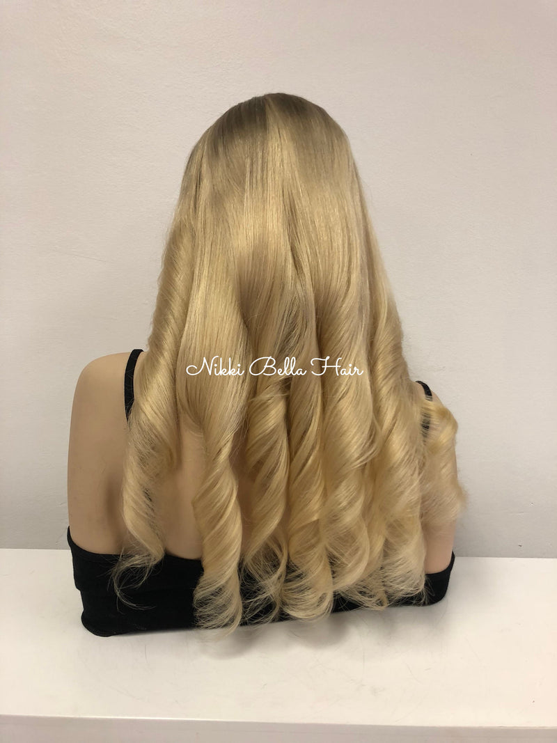 Custom Blond Full Lace Wig - Micheala 20""