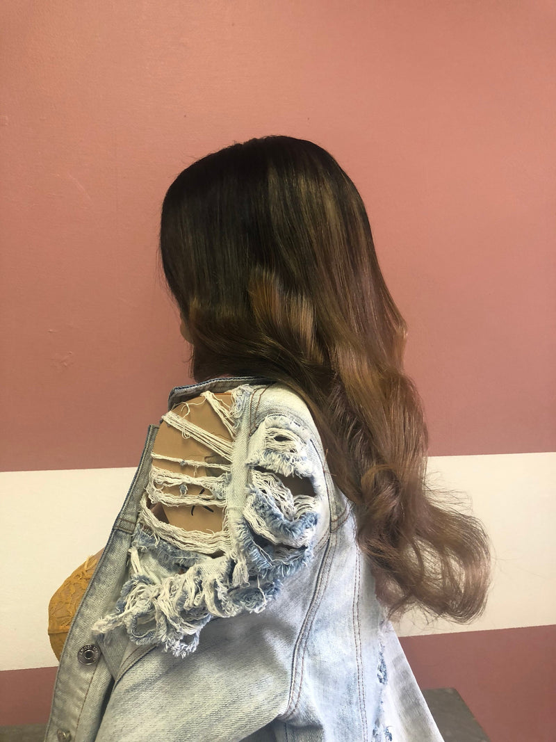 Full Lace Wig OMBRE 14""