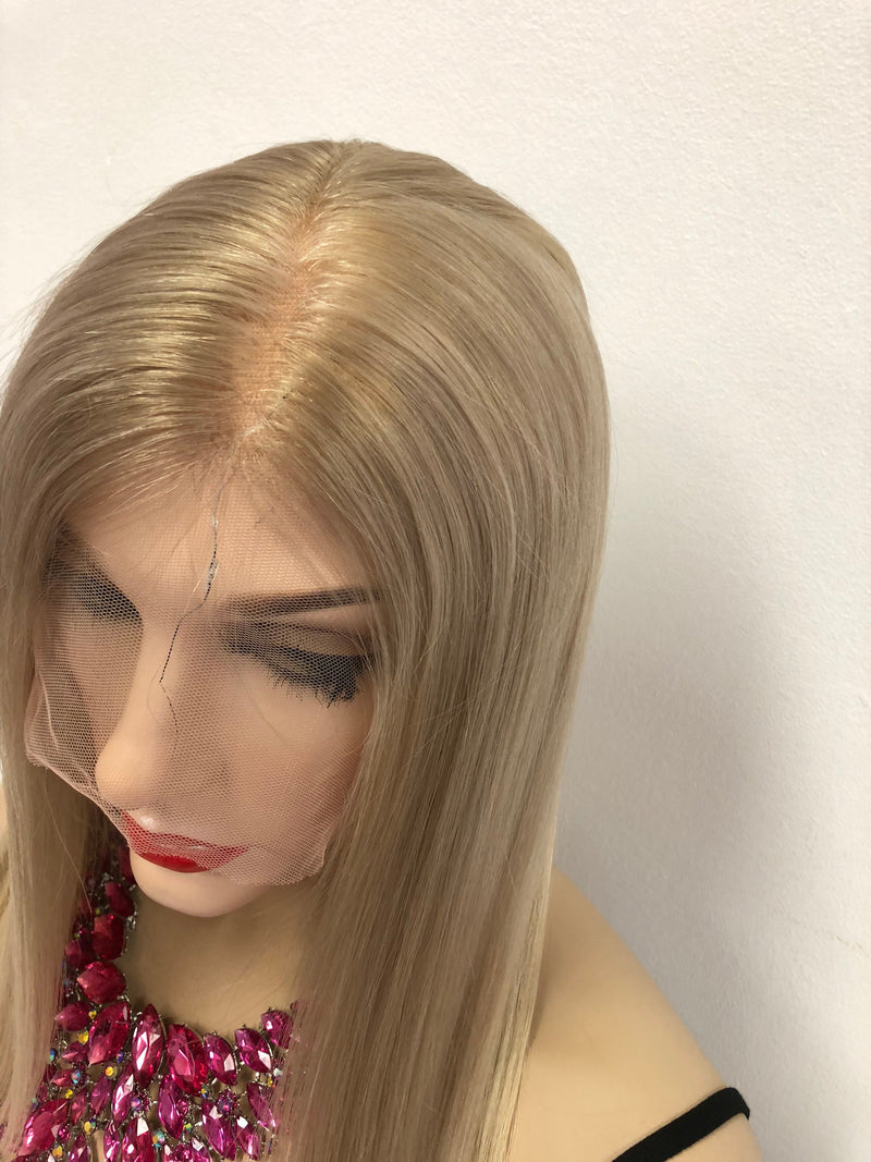 Natural Blonde Full Lace Wig - Faith