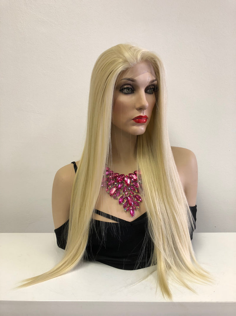 "Blonde Multi Part Lace Front Wig | 30"" Stormy 918"