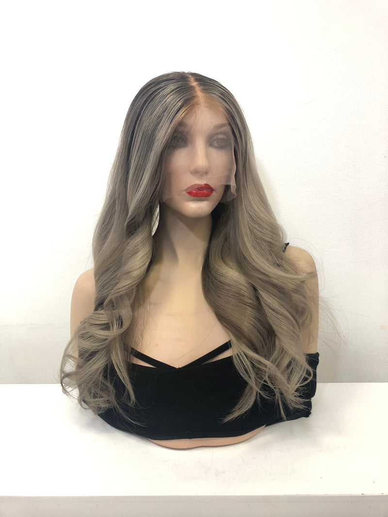 Blond Balayage Full Lace Wig - Rose