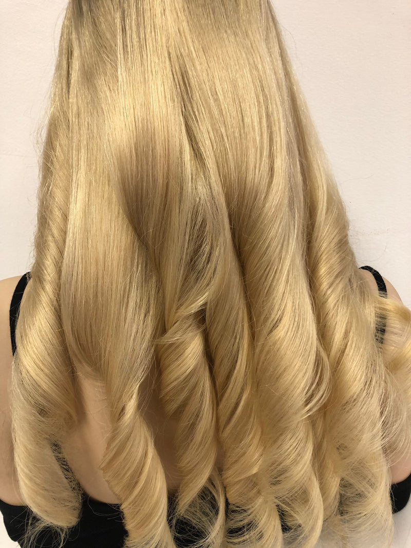 Blond Balayage Ombre SWISS Brazilian Full Lace Wig | 18""