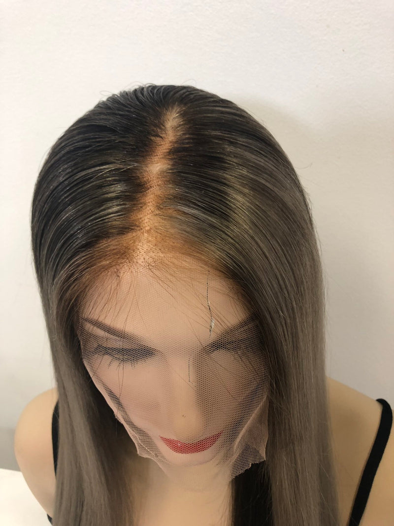 Blond Balayage Full Lace Wig - Elodie