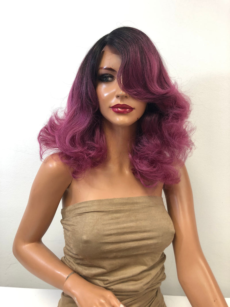 Pink Ombre' Lace Wig | Violet Rose 01 19