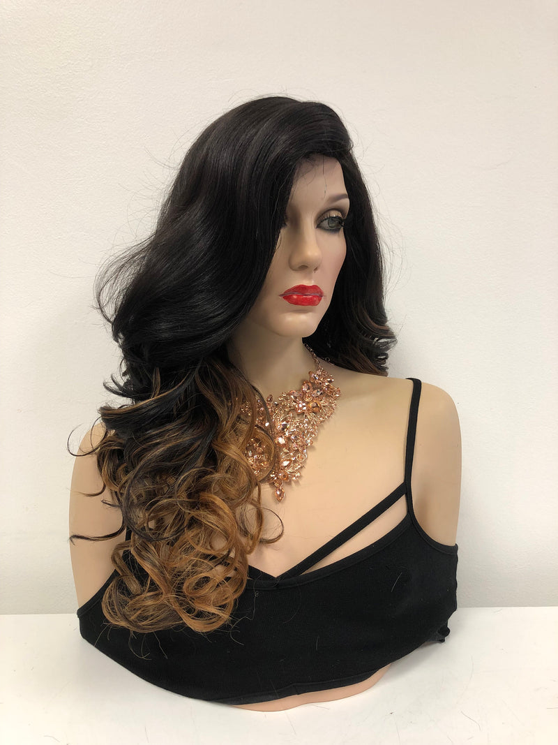"Ombre Blonde Lace Front Wig | 22""  1118 79"