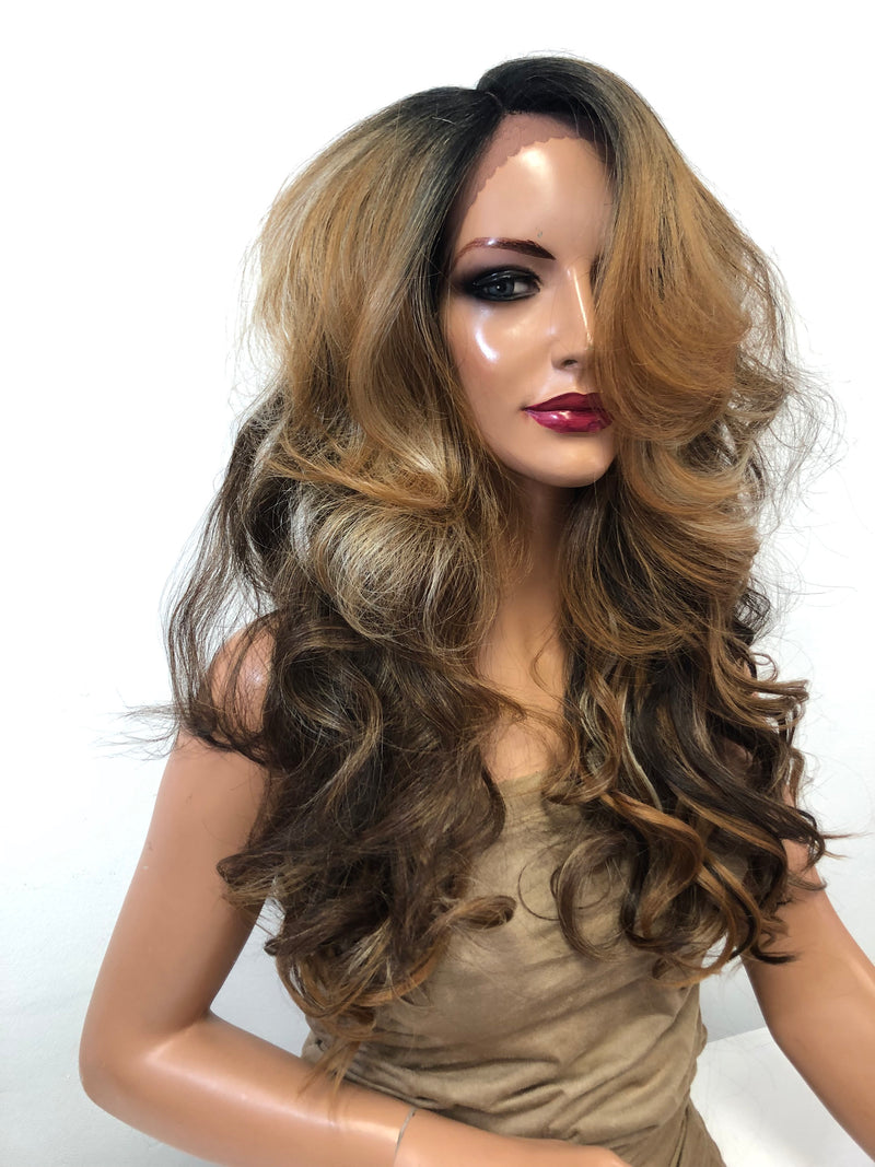 Brown Blonde Lace Wig | Goldigger 01 19