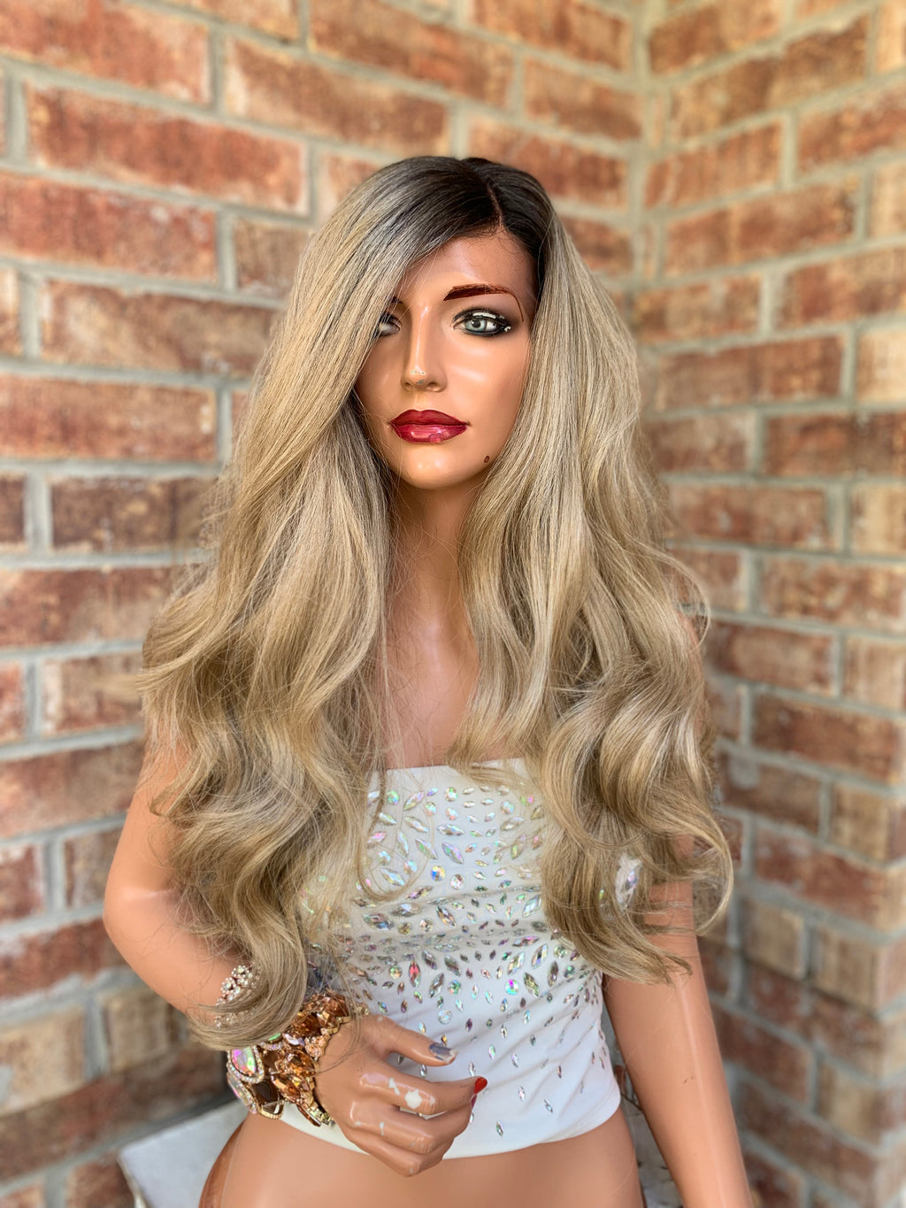 Blonde Ombre' Balayage Hair Wig | Lydia 0419