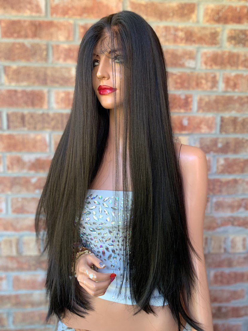 Brown Lace Hair Wig | Invisible Free Parting | Today is Beautiful 0519