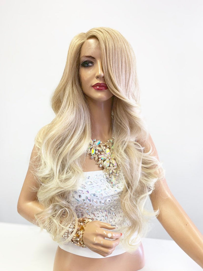 Blonde Balayage Lace Front Wig 24