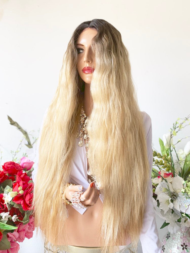 OLIVIA BROWN BALAYAGE Hair Lace Wig 26