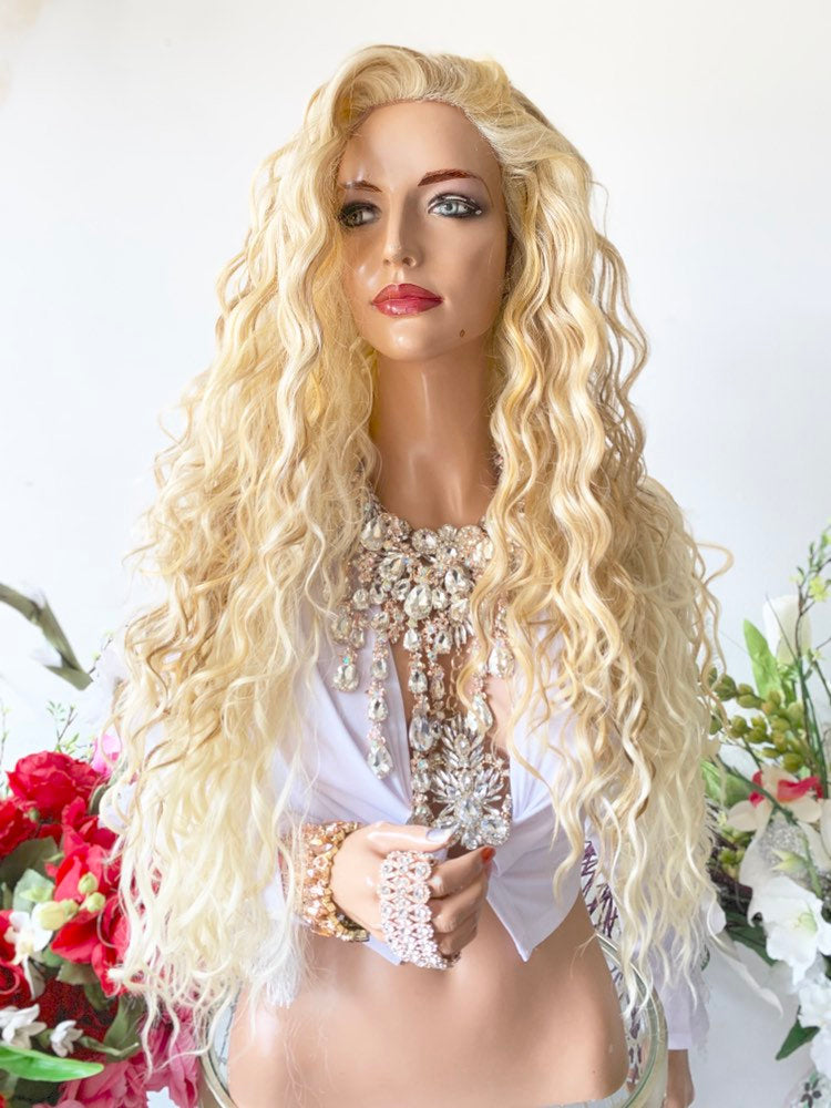 SICILIANO BLOND BALAYAGE Hair Lace Wig 26