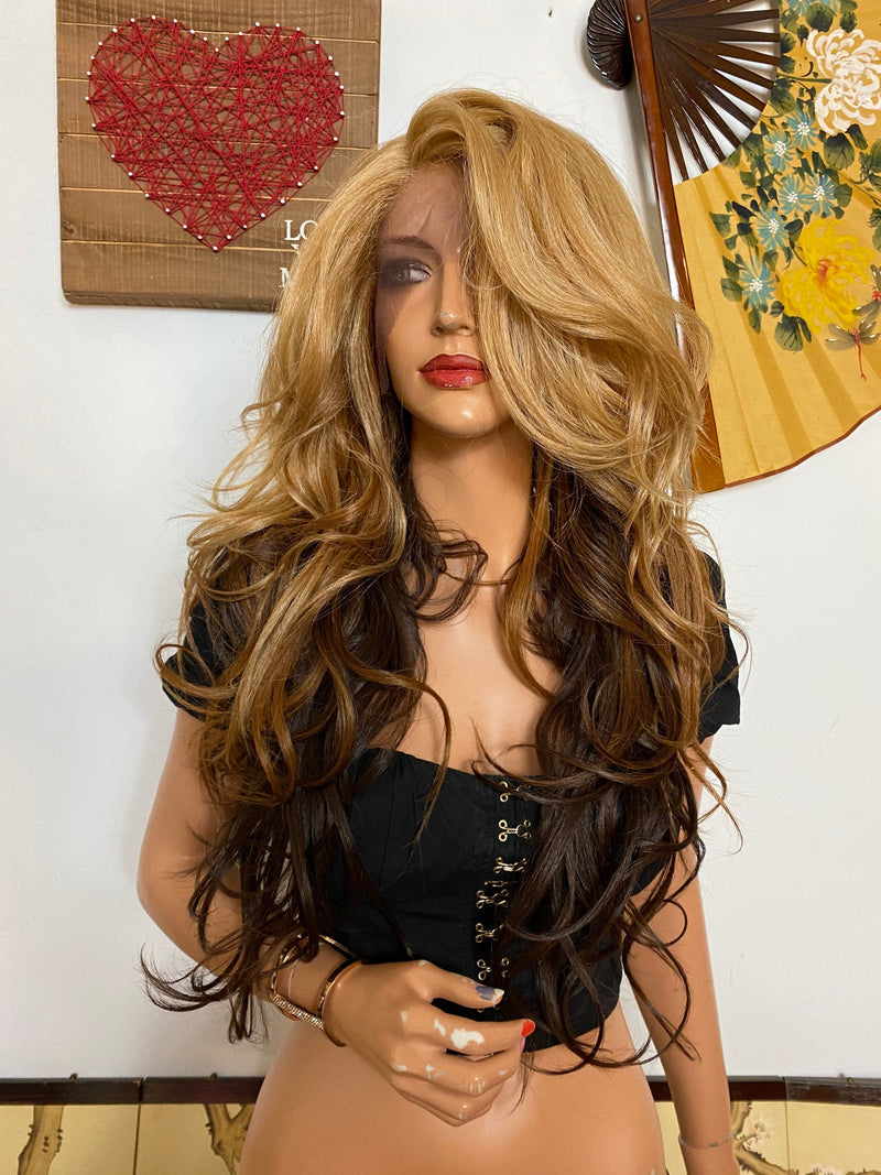 "LILY lace front wig 26"" Long