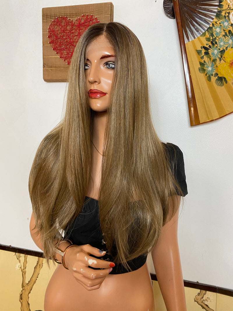 "DAPHNE lace front wig 24"" Long