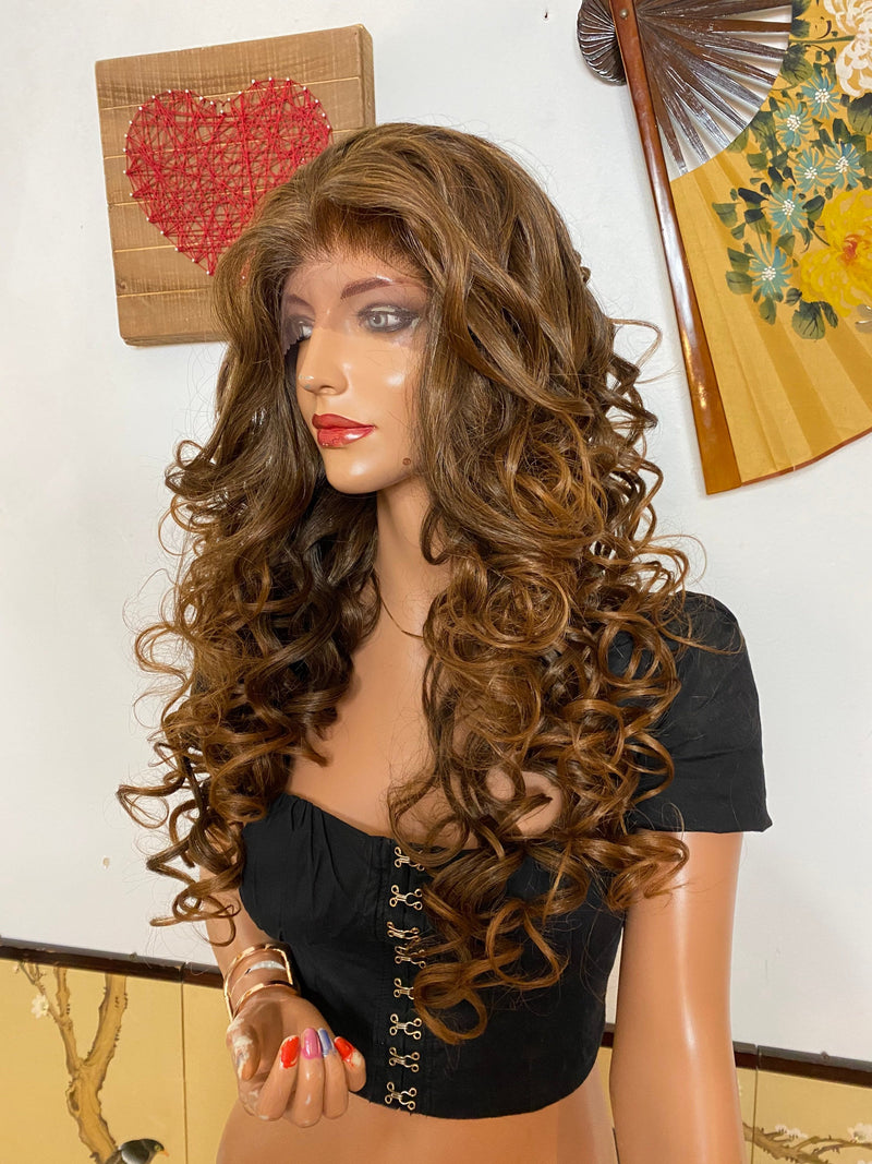 "TRACY 13x4 lace front wig 24"" Long