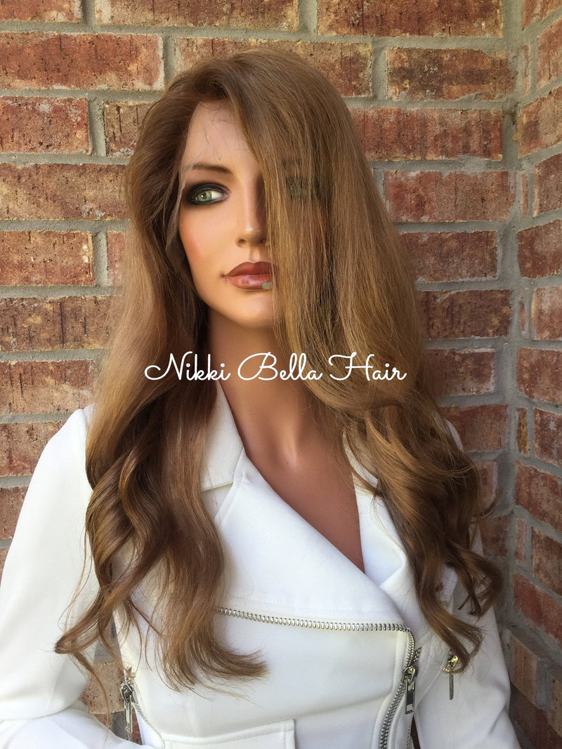 Lindsay full lace wig 16 inch human hair