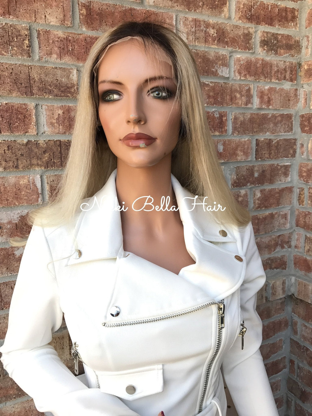 Natural Blond Full Lace Wig 22""