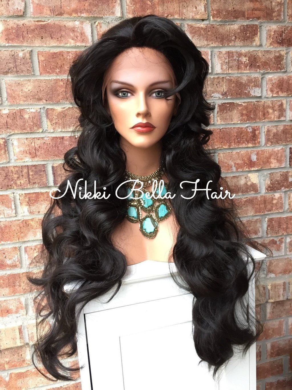 "Summer 24"" Waves Lace Front Wig"