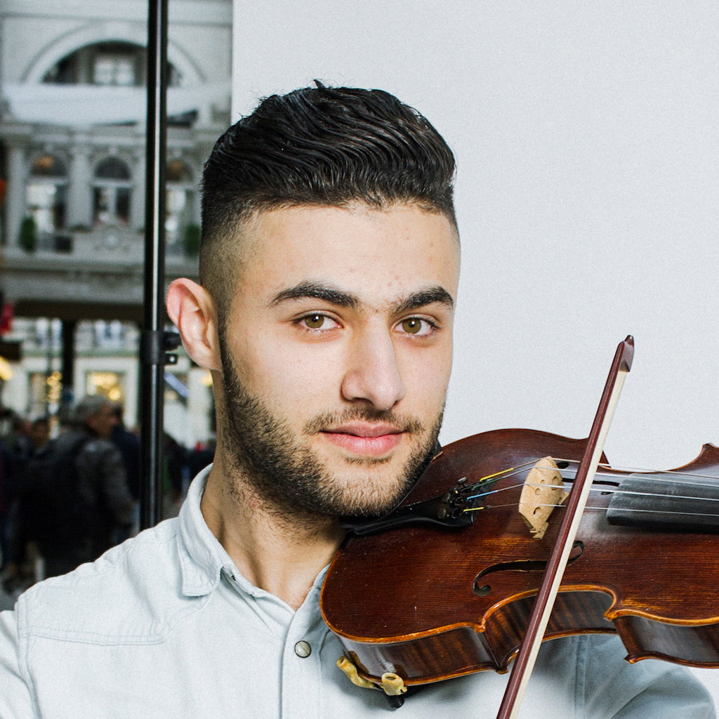 Meet Firas: student, violinist, and soon-to-be famed