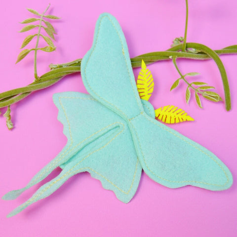 Catnip Luna Moth Cat Toy