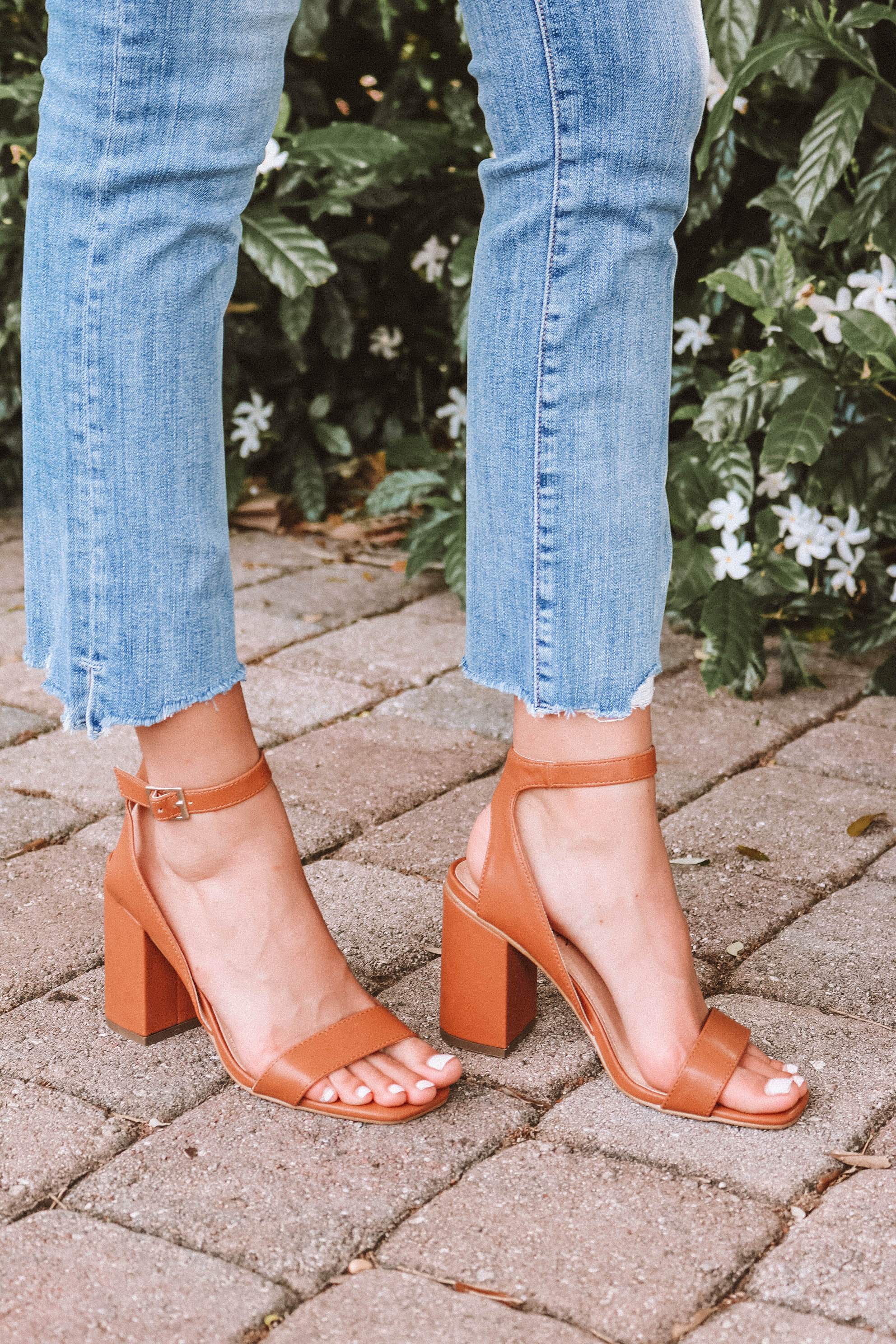 Breanne Heel in Tan