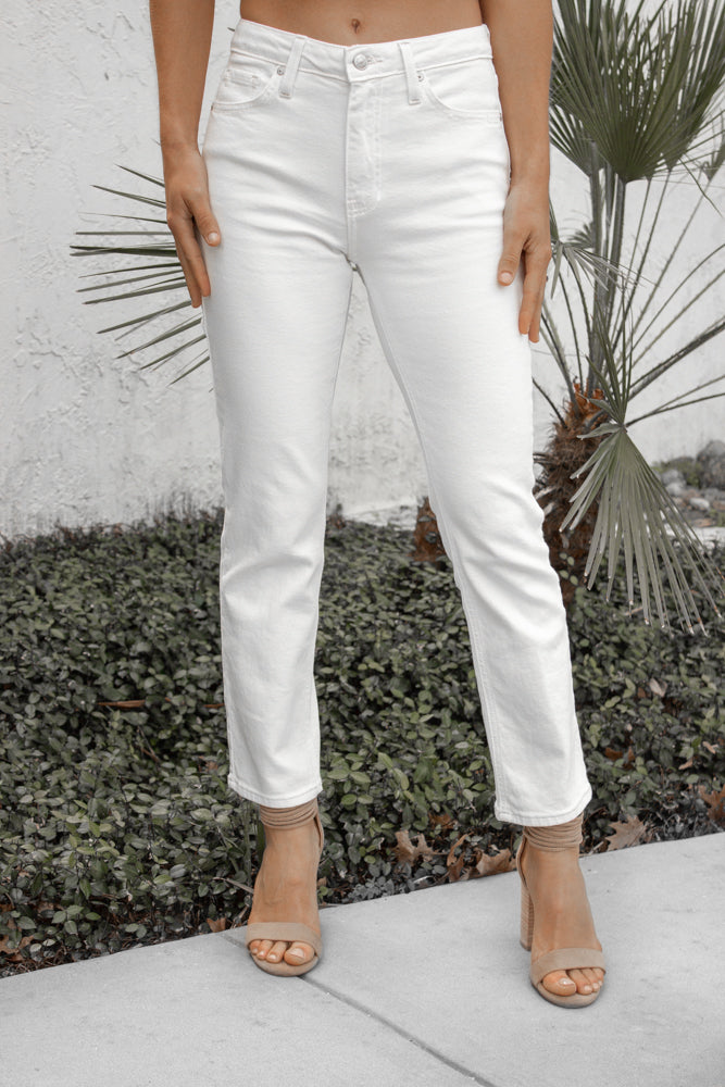 Chandler Denim in White