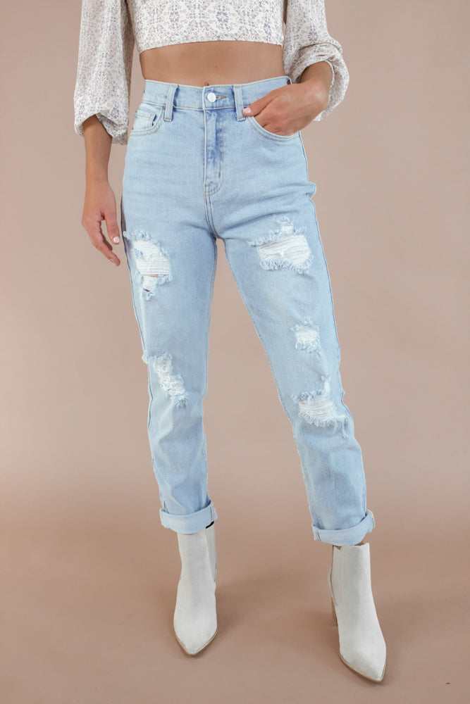 Cloudy Skies Denim
