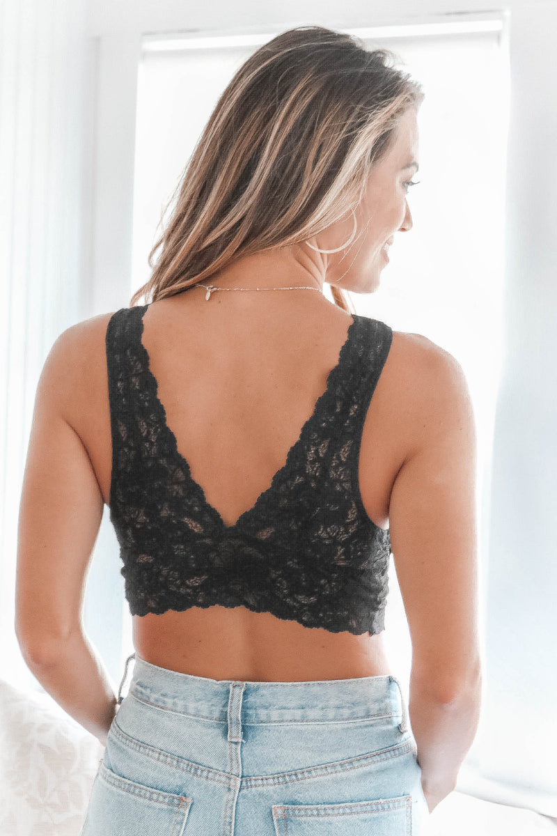 Destiny Bralette in Black