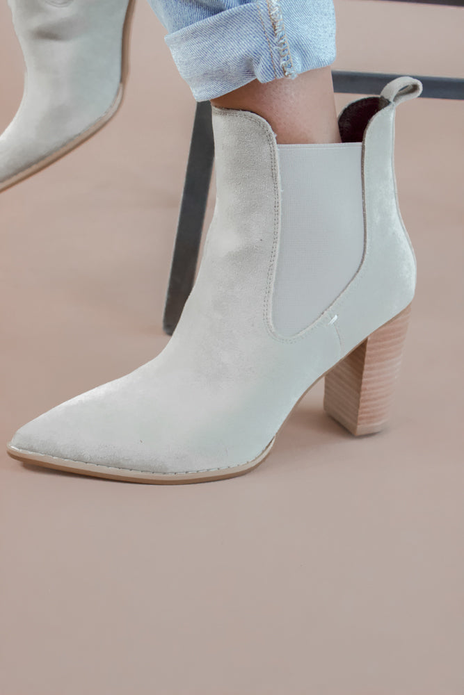 Esmee Boot in Grey