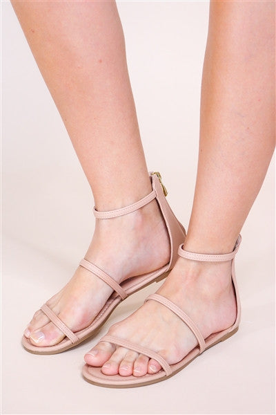 Jagger Sandal in Nude
